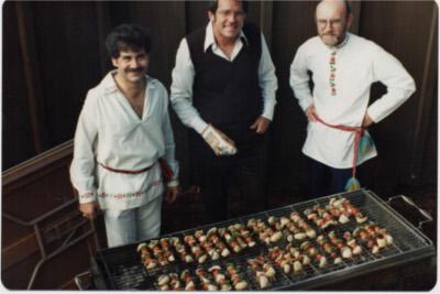 Gary Hartung, Steve Jones, John Komanecky