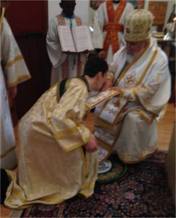 Ordination of Deacon Igor, 2014