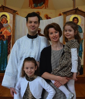 Deacon Igor Beskorovaynyy and family