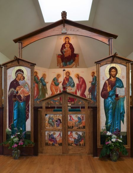 Iconostasis in St. Nicholas Orthodox Church