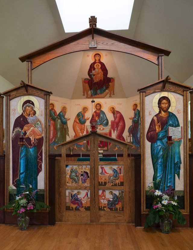 Iconostasis in St. Nicholas Orthodox Church
