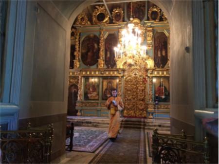 Deacon Igor Beskorovaynyy in Russia