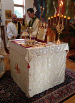 Ordination of Deacon Igor, 2014
