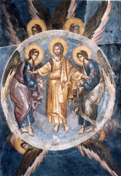 Ascension fresco