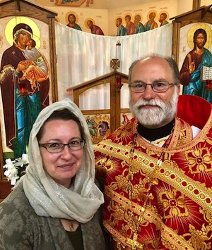 Matushka Eva Karcher and Father John Karcher